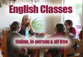 Free English Classes Available