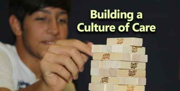 Helping Each Other Builds a Culture of Care