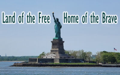 The Statue of Liberty Stands Tall as a Symbol of Freedom.
